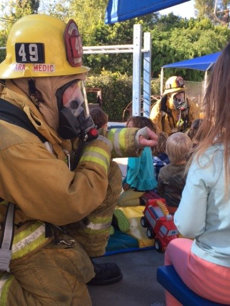 long beach preschool fire fighter visit (2)