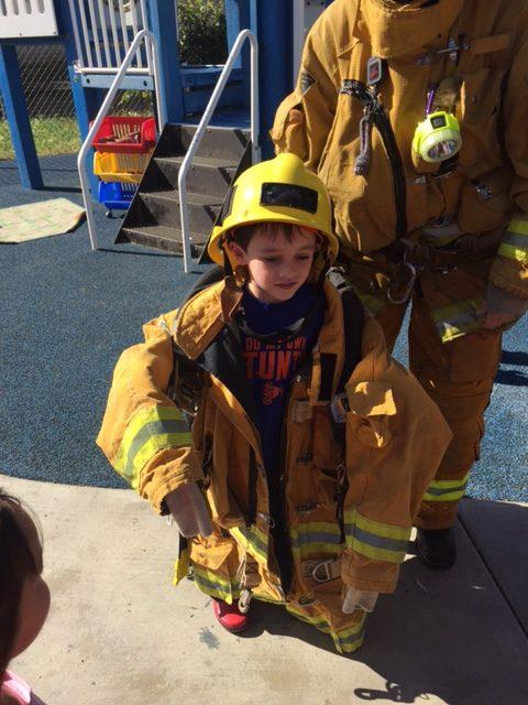 Long Beach Preschool Fire Fighter Visit 3 Edgewater Preschool Child Care Center Day Care Toddler Care Long Beach Ca