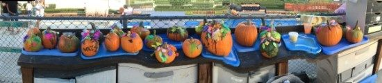preschool pumpkin decorating (1)