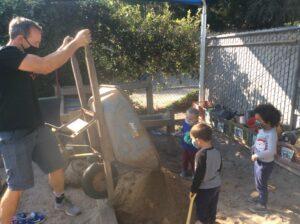 preschool sandbox