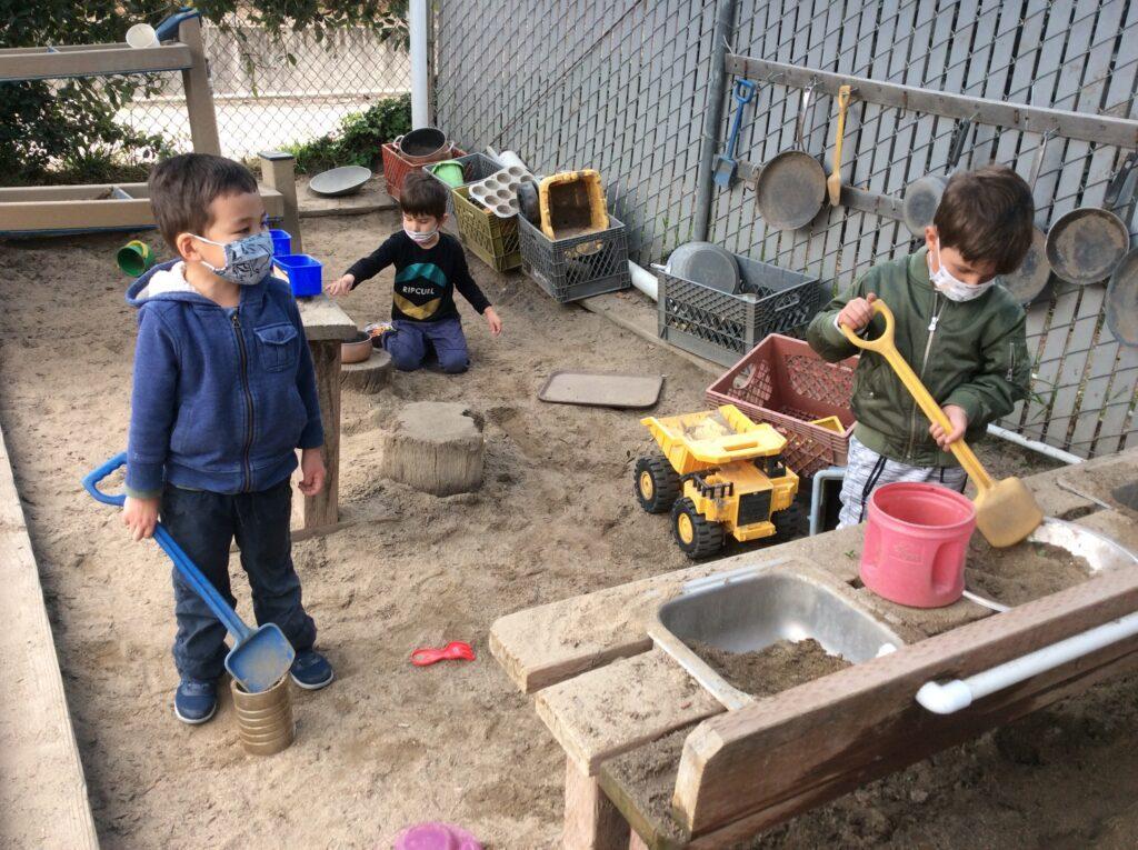 preschool sandplay